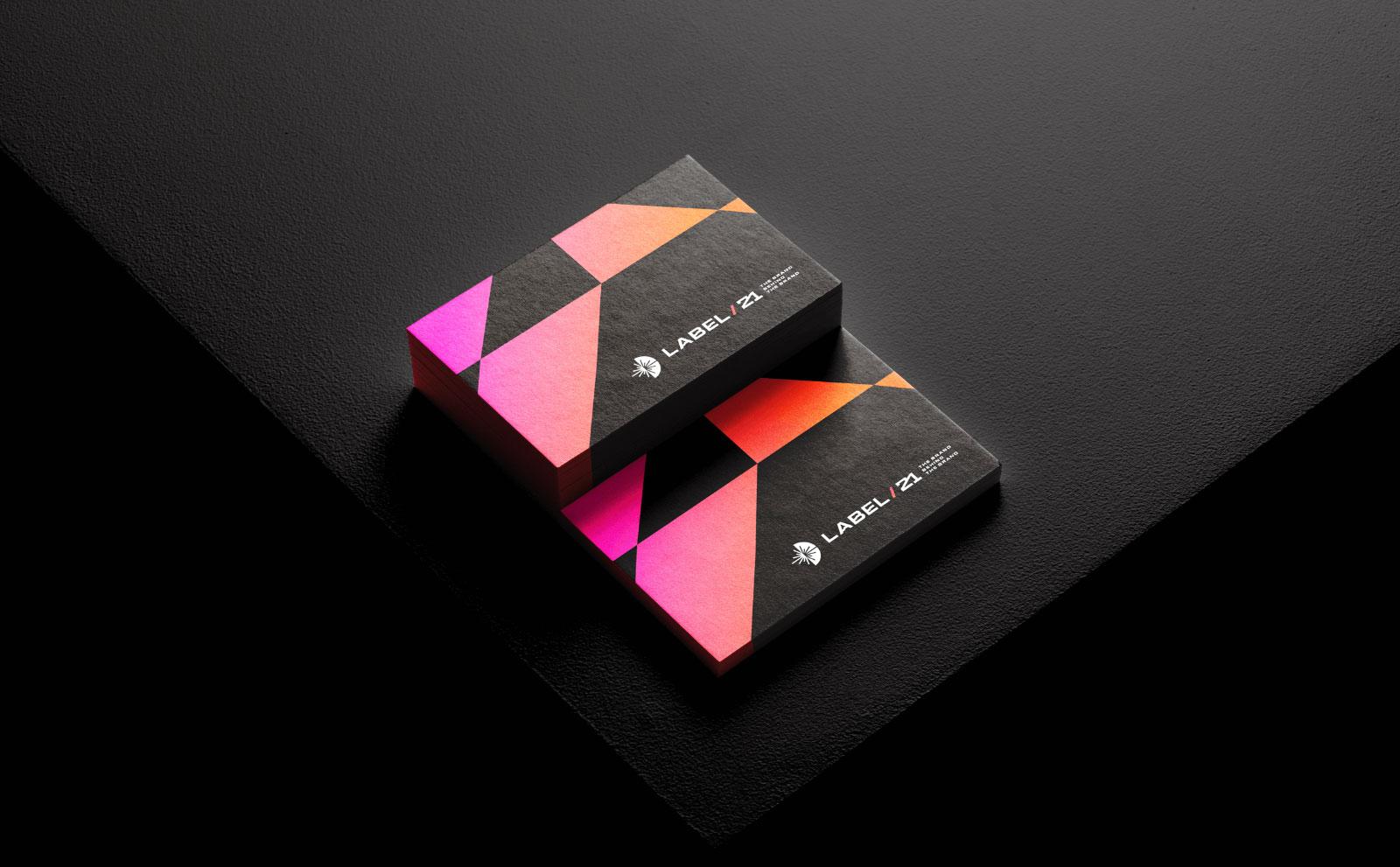 数字营销公司品牌视觉识别系统设计
