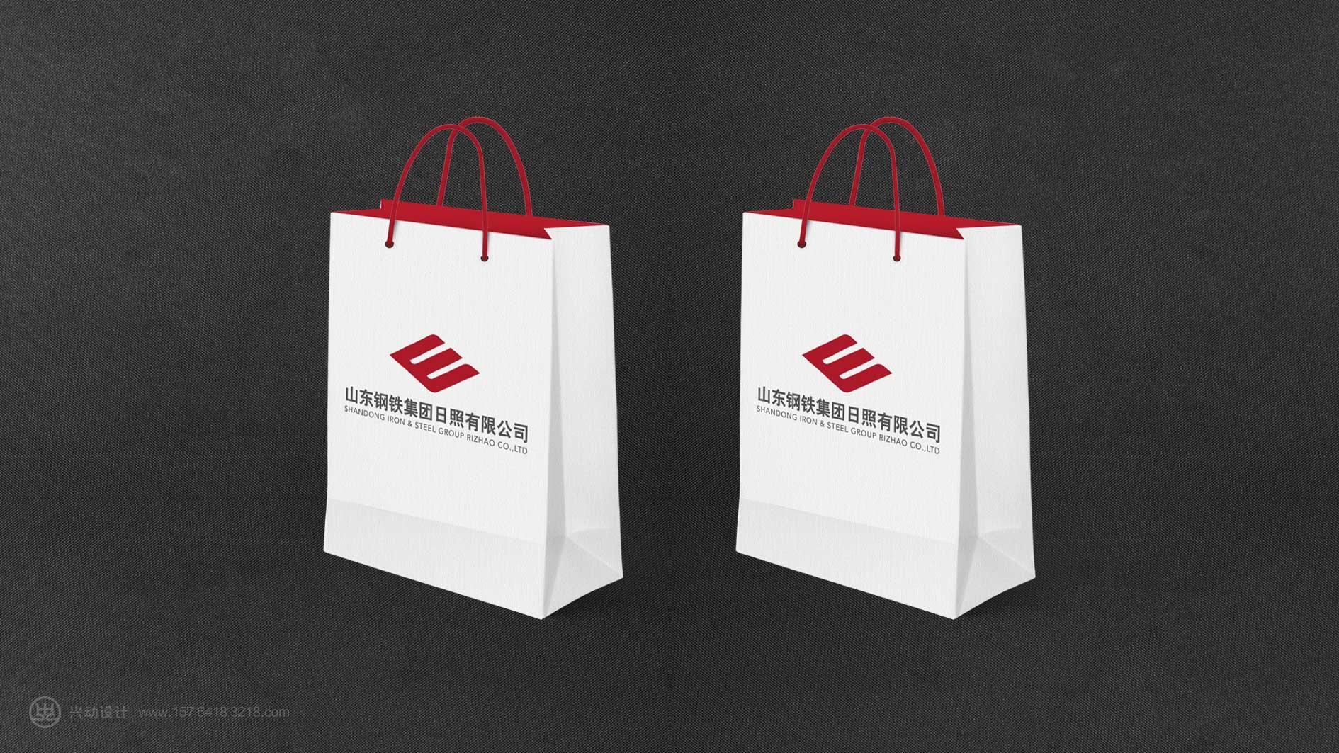 钢铁集团手提袋设计